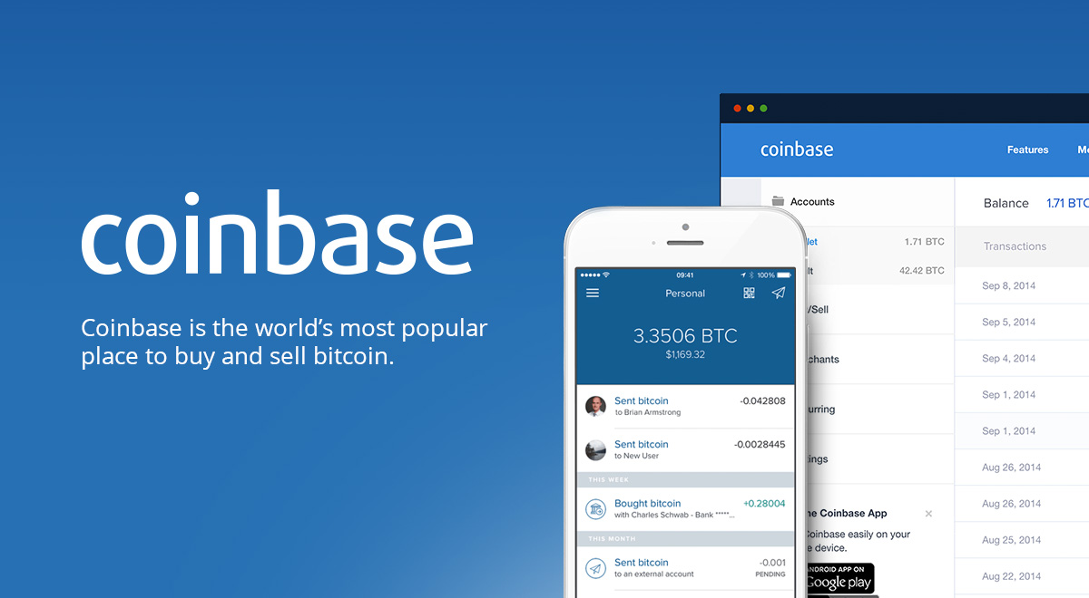 Bitcoin Coinbase Exchange buy and sell