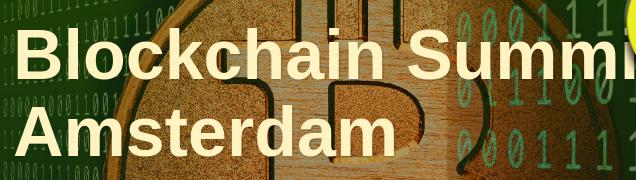 Blockchain Summit Amsterdam