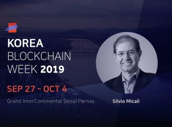 Turing Award Recipient, MIT Professor, and Founder of Algorand, Silvio Micali to Attend Asia's Largest Blockchain Weekly Event, 'Korea Blockchain Week 2019'